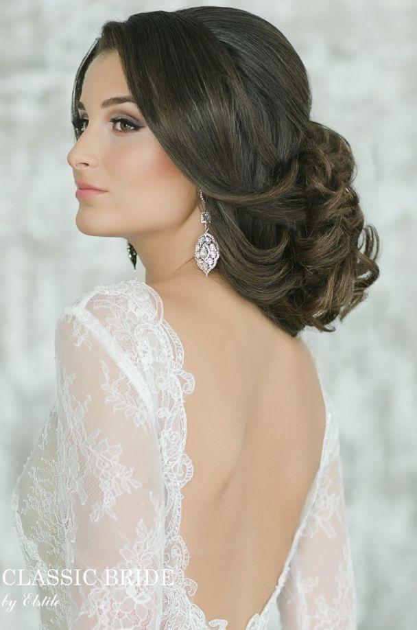 Gorgeous Wedding Hairstyle Inspiration - Hairstyle: Elstile
