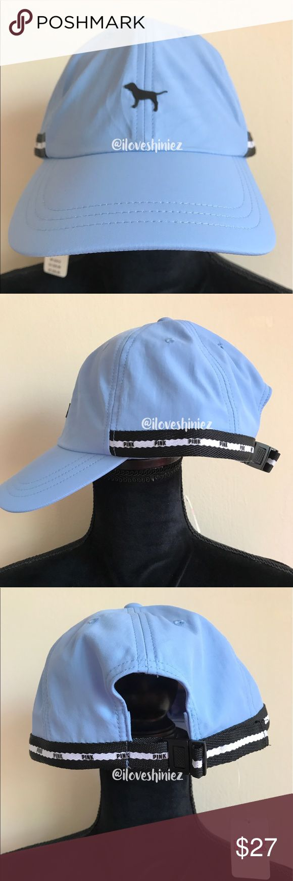 •Victoria's Secret PINK• Baseball Hat •Victoria's Secret PINK•  Baseball hat with adjustable brass colored metal sport clip and strap All star blue color with black embroidered logo and black and white color lock logo accent strap Material: Imported nylon New with tags MSRP $26.95  ✨Please read before commenting✨  ❌No Trades ❌No Holds ❌Prices are Firm but I will evaluate offers up to a 10% off a listed price. Consider every other offer Declined ❌Keep rudeness to yourself  ✨ ILoveShiniez ✨  ✨…
