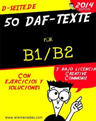 Un manual gratuito de textos para estudiantes avanzados de alemán, con ejercicios y soluciones, y encima gratis... hay gente que no aprende.