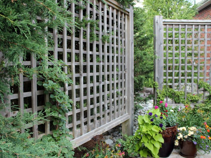 Like these screens - could be used as trellis.