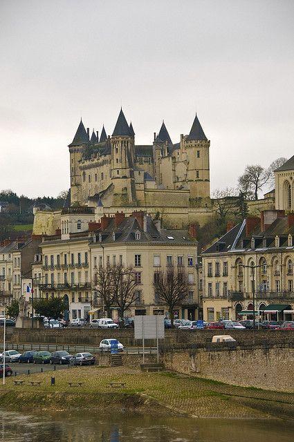 Chateau de Saumur , France