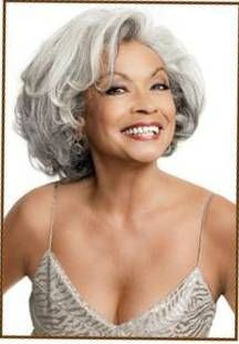 Flaunt your grey hair if you believe it enhances your features.  You're probably right.