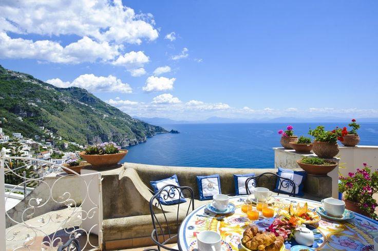 Villa Melodia, Amalfi coast, Italy.