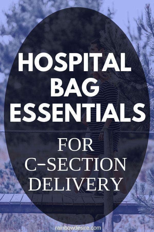 Was Sie in Ihrer Krankenhaustasche brauchen, wenn Sie ein C-S haben … – Schwa …   – Newborn Essentials
