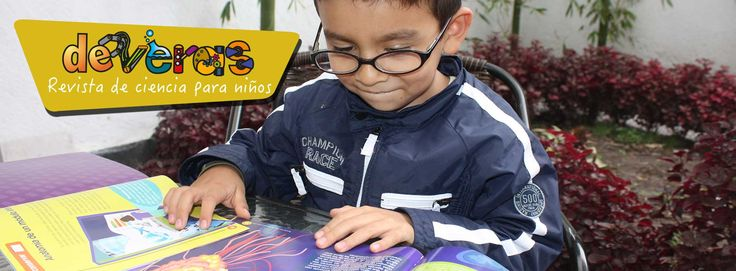 Deveras - Revista de ciencia para niños | Consejo Mexiquense de Ciencia y Tecnología