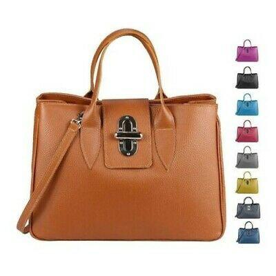 Italian Women's Real Leather Bag Business Shopper Briefcase Shoulder Crocodile: £70.22End Date: 01-Jan 19:06Buy It… #tasche #backpack #bag