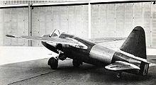 Heinkel He 178 - On August 27, 1939 Erich Warsitz undertook the world first jet flight with the Heinkel He 178 fitted with Hans von Ohain's jet engine, the He S 3 turbine.