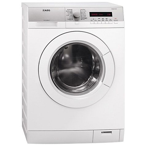 £484 Buy AEG L76685FL Freestanding Washing Machine, 8kg Load, A+++ Energy Rating, 1600rpm Spin, White Online at johnlewis.com