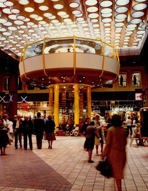 Eldon Square shopping centre, Newcastle Upon Tyne, 1978.