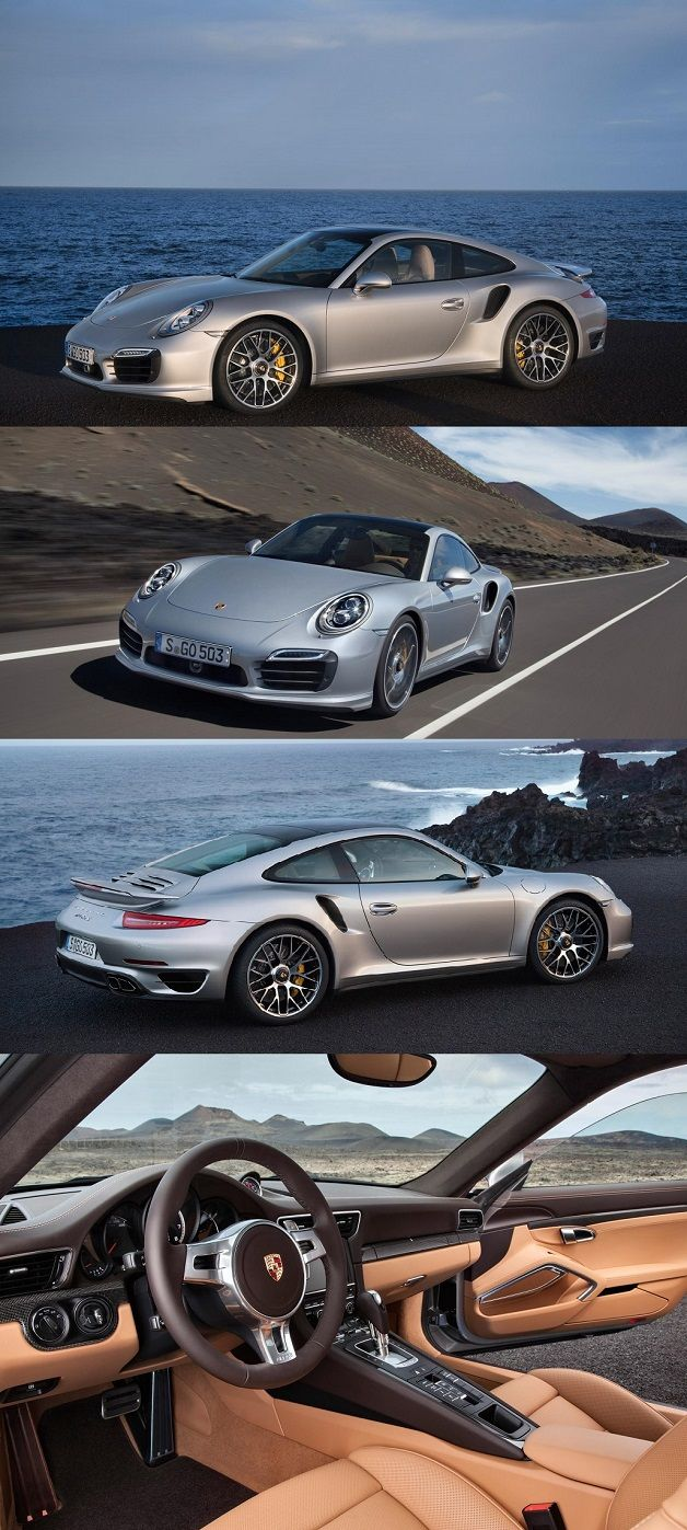 New Porsche 911 Turbo S. I would love one of these.