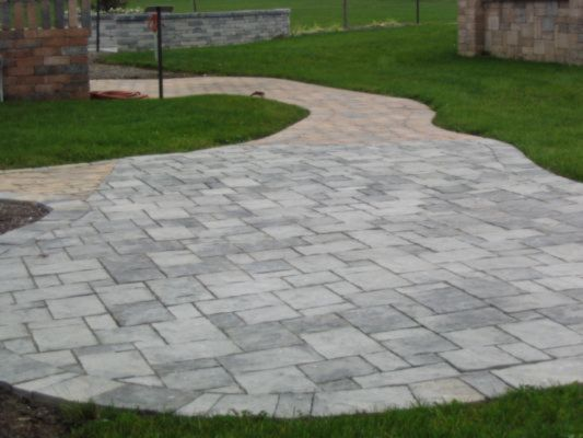 12x12 Patio Pavers Midwest Hardscape Waterfront Paver