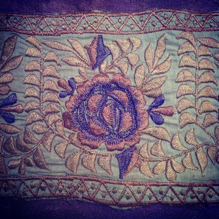 Vintage embroidery find at Lynsey Jean Henderson Print Studio!  https://www.facebook.com/LJHstudio