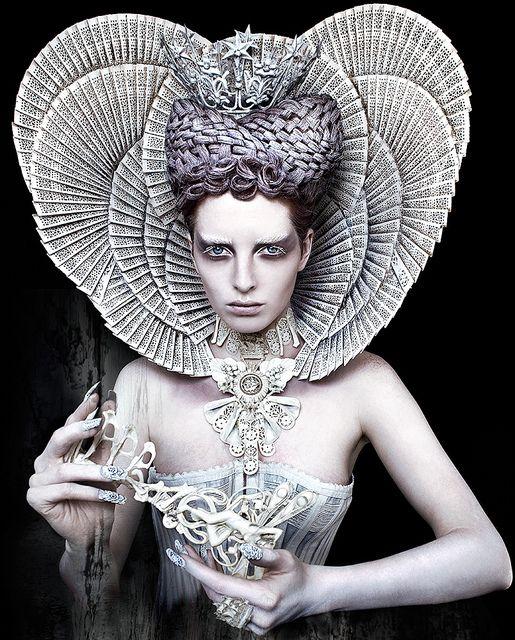 Wonderland : The White Queen by Kirsty Mitchell, via Flickr