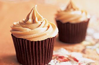 Sticky toffee cupcakes with salted caramel buttercream - very nearly as good as the real deal and so simple to make!