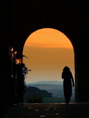 Si...Castello di Gradara, Italy, by @lugli, via Flickr
