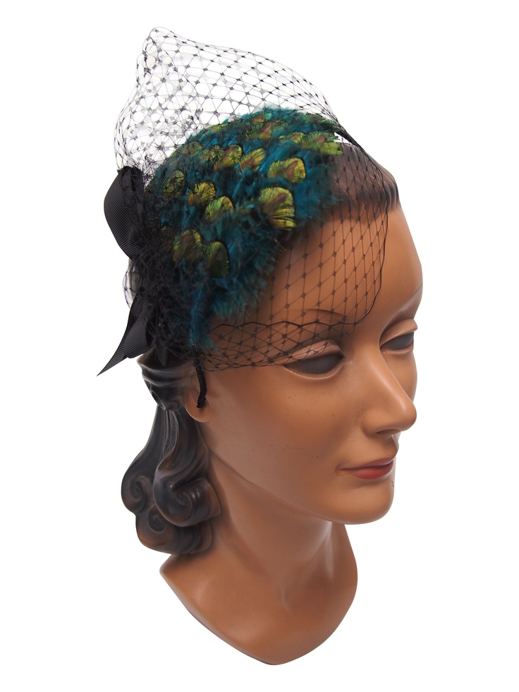 how to make a peacock headband
