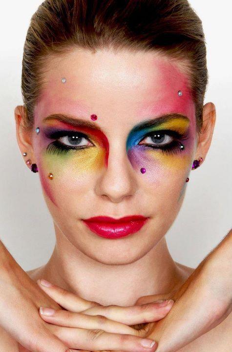 Rainbow Makeup