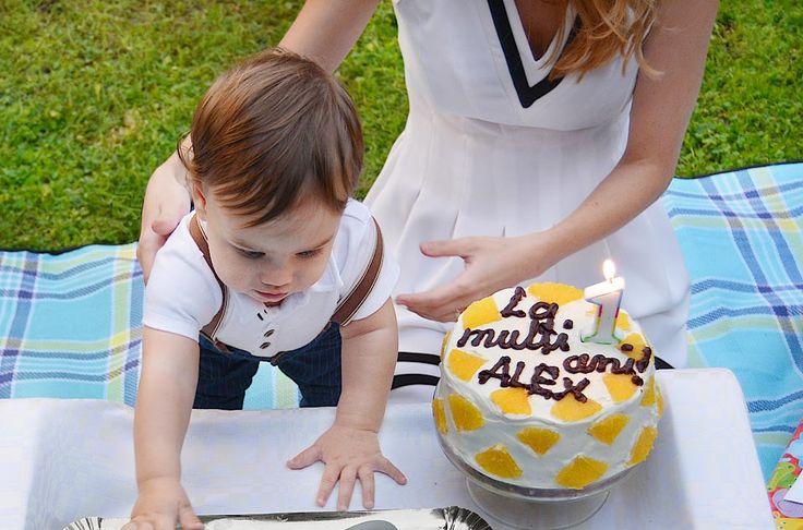 Tort pentru aniversarea primului an (fara zahar sau indulcitori)