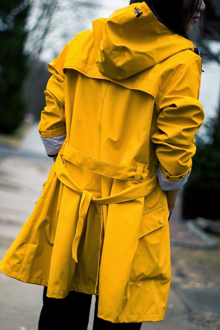 Yellow Raincoat | That certain something | Gelber