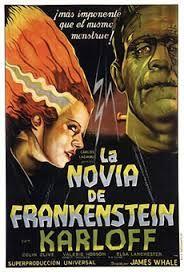 La novia de Frankenstein, película producida en 1935 dirigida por James Whale.