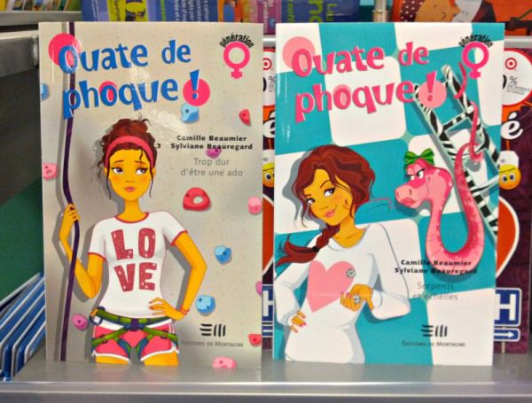 WTF? A book series in French for young girls called Ouate de phoque! | OffQc | Quebec French Guide