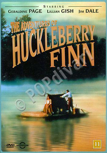 Huckleberry Finnin seikkailut • Hieno seikkailuelokuva, joka sopii lähes koko perheelle (ikäraja 11 v.) • Harvinainen, lienee myös loppuunmyyty.