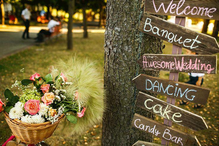 Wedding Decor Inspiration! For momre ideas check out www.smartgroom.com #weddingsign #weddingdecor #weddinginspiration