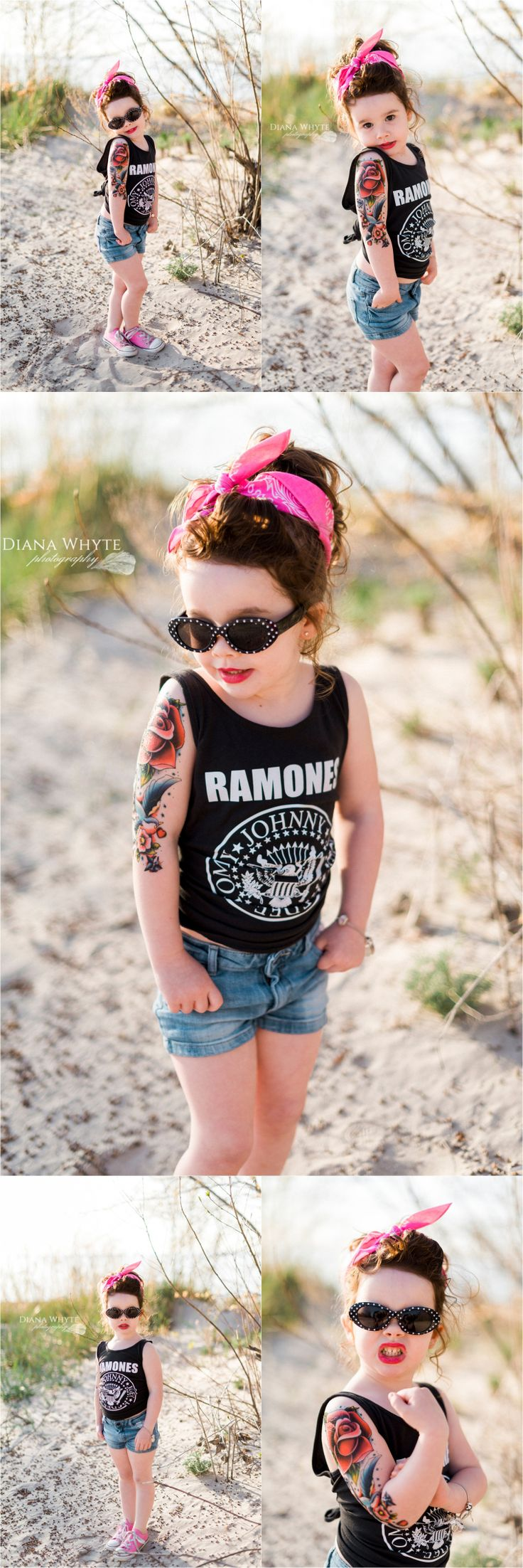 Rockabilly tattoo birthday party girl www.DianaWhytePhotography.com