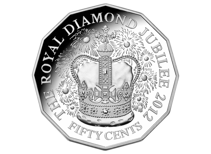 2012 50c Jubilee Silver Proof Coin $80.00. I now have acquired this coin