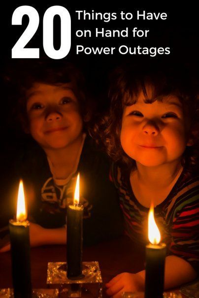 20 Things to Have on Hand for Power Outages | Essential Time For The Home | Best Life Hacks