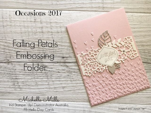 Michelle Mills Ind Stampin' Up! Demonstrator Australia. FB: Hello Day Cards.