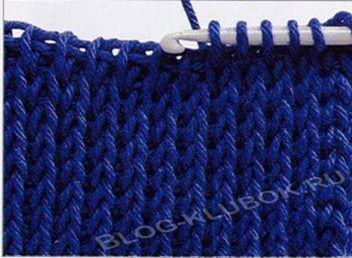 Вязание крючком тунисское вязание-1
