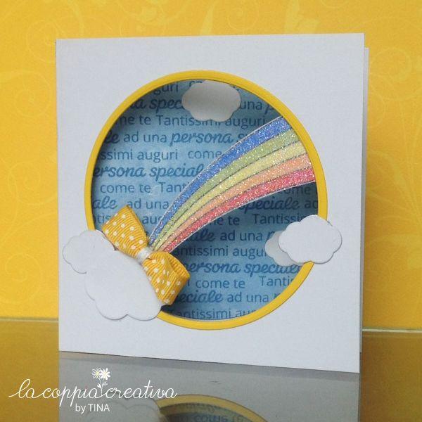 L`arcobaleno glitter - Tina