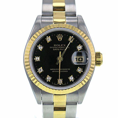 Rolex Datejust swiss-automatic womens Watch 69173 (Certified Pre-owned) ** Check...