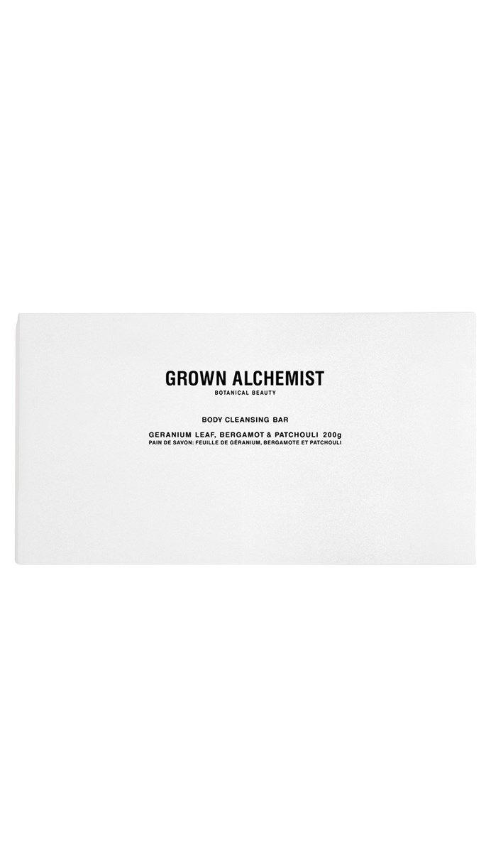 Body Cleansing Bar: Geranium Leaf, Bergamot & Patchouli