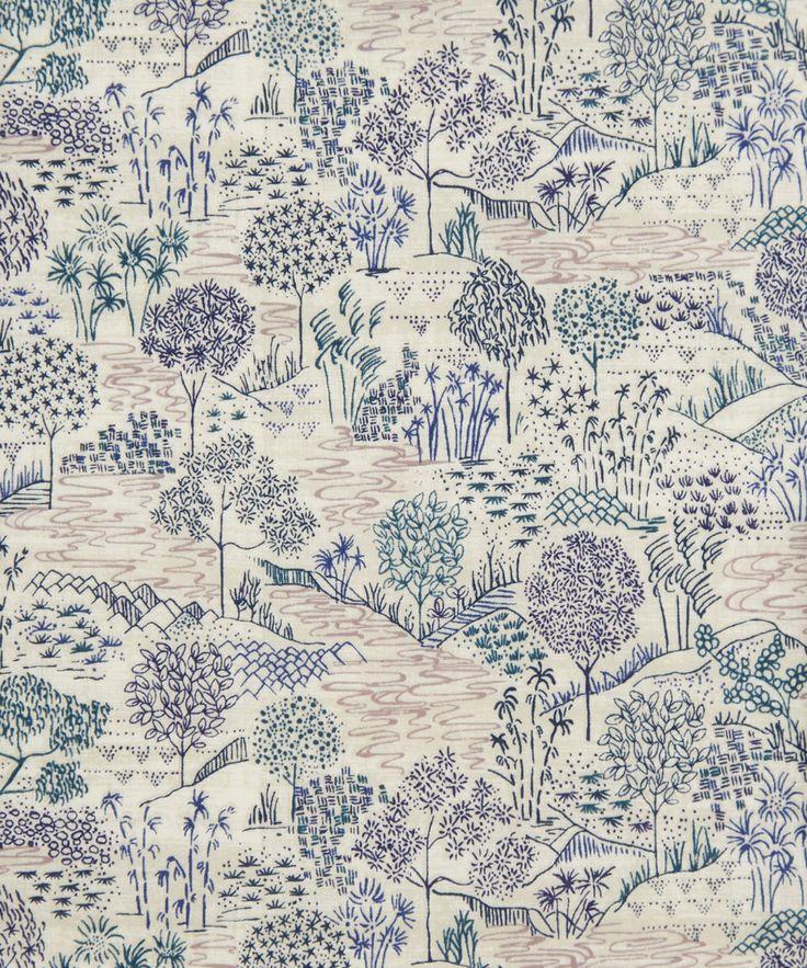 Liberty Art Fabric Sabrina A Tana Lawn Cotton   Fabric   Liberty.co.uk