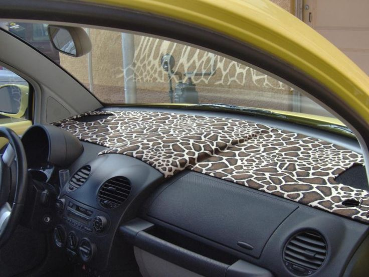 Dash Cover For A Vw Bug Would Like A Different Print