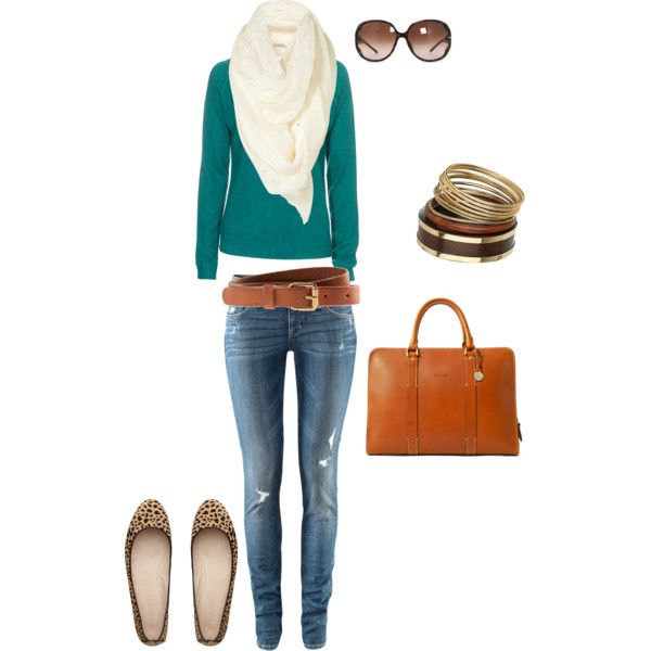 Jade: Green Sweater, Wardrobes Outfits, Style Ish, Animal Prints, Style Fal, Style Wish, My Style