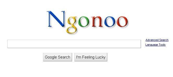 Mengganti Logo Tulisan Google