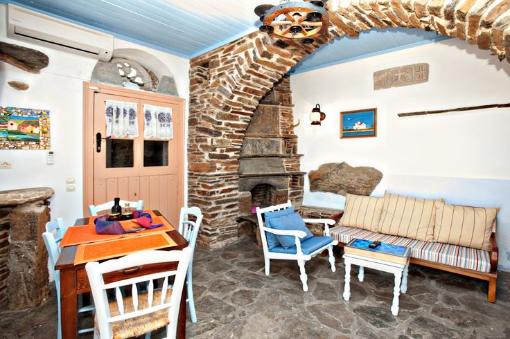 The Peach House http://www.tinos-habitart.gr/peach-house.php Greek #island feeling, traditional furnishing and design without compromises on the modern comforts!