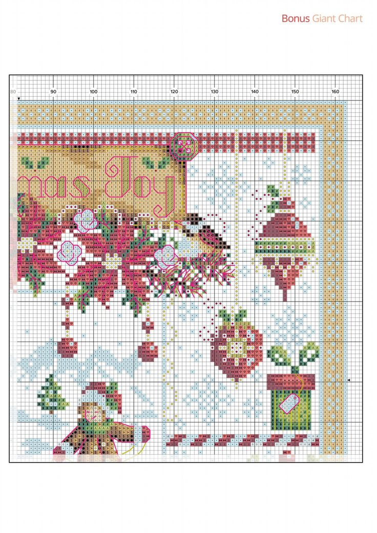 6 of 9 Christmas Joy  From Cross Stitch Collection N°267 October 2016
