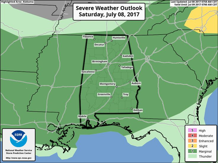 A Quick Look At Our Saturday Weather Situation At 11:20AM  : The Alabama Weather Blog