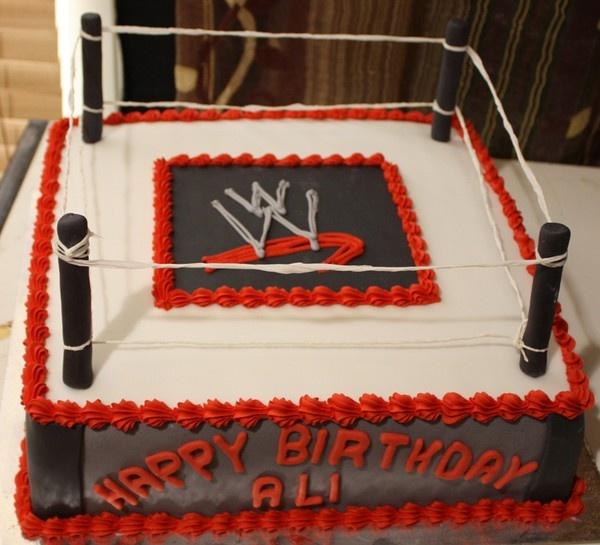 Wrestling Cakes Pinterest