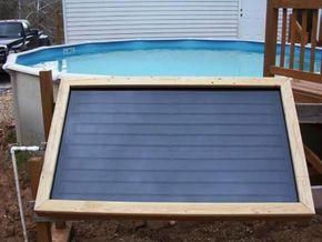 DIY Swimming Pool Heater