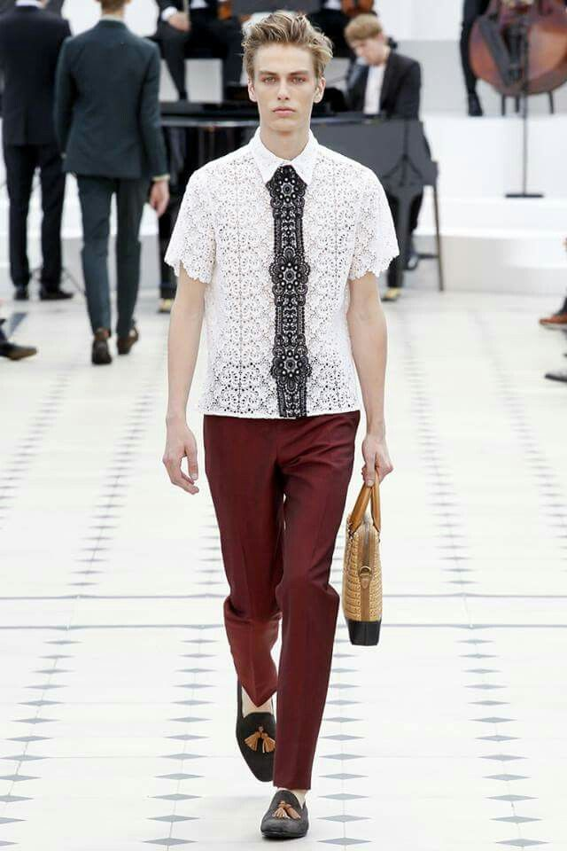 Lace for Men by Burberry