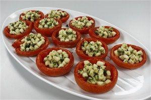 Ovntørrede tomater med fyld 4