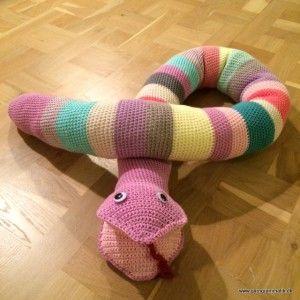 Hæklet slange - Garn Grammatik