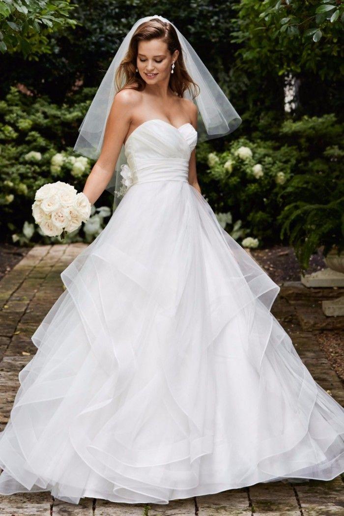 Robe de mariée coupe princesse Wtoo Watters