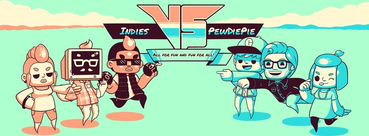 [Game Jolt] Indies VS PewDiePie | Game Jolt