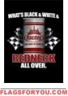 last one - Redneck Racing Garden Flag